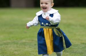 Princesse Estelle, 1 an: Reine de la Fête nationale 2013 avec Victoria et Daniel