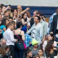 Kamel Ouali lors du concert de Rihanna au Stade de France. Pas moins de 80 000 personnes ont assisté à ce concert exceptionnel à Paris, le 8 juin 2013