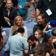 David et Cathy Guetta lors du concert de Rihanna au Stade de France. Pas moins de 80 000 personnes ont assisté à ce concert exceptionnel à Paris, le 8 juin 2013