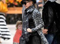 Madonna : Discrète avec sa tribu et sa fille Lourdes, material girl branchée