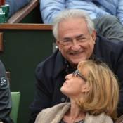 Roland-Garros 2013 : DSK complice et serein avec Myriam pour le géant Nadal