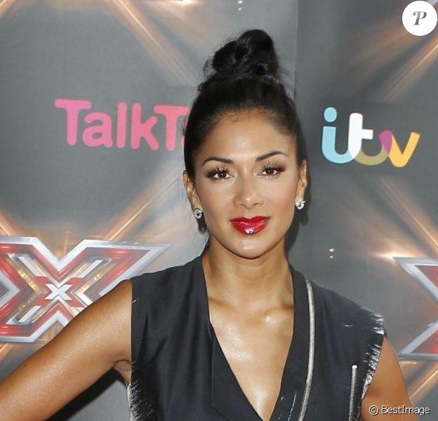 Nicole Scherzinger aux auditions de l'émission X Factor à Birmingham, le 10 Juin 2013.