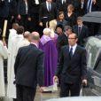 Hommage à Pierre Mauroy rendu à la Lille le 13 juin 2013.