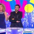Cyril Hanouna entouré de Marie-Ange Nardi et Pépita dans le prime spécial Touche pas à mes années 90 sur D8 le vendredi 14 juin 2013