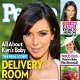 Magazine PEOPLE qui raconte l'accouchement de Kim Kardashian. Juin 2013.