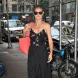 Heidi Klum, surprise à Manhattan. New York, le 18 juin 2013.