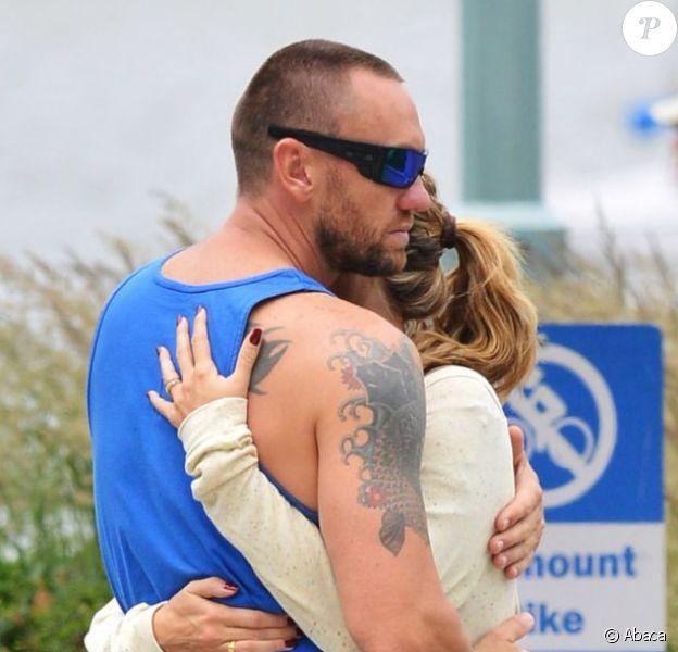Heidi Klum et Martin Kirsten, sportifs et affectueux à New York. Le 16 juin 2013.