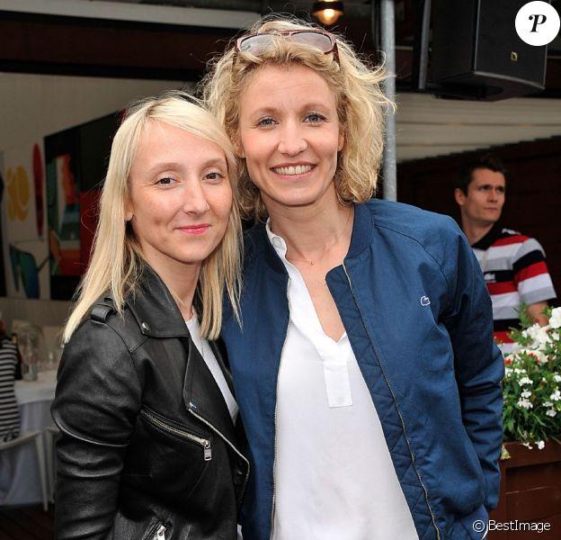 Audrey Lamy et Alexandra Lamy début juin à Roland-Garros