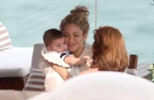 Shakira : Maman câline avec son petit Milan avant de retrouver Gerard Piqué
