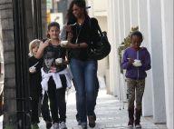 Brad Pitt : Papa craquant avec Shiloh et Zahara qui grandissent vite !
