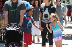 Heidi Klum : Maman poule et amoureuse sous le soleil radieux de New York