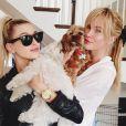 Ireland Baldwin a posté des photos de son séjour avec sa cousine Hailey à New York, début juin 2013.
