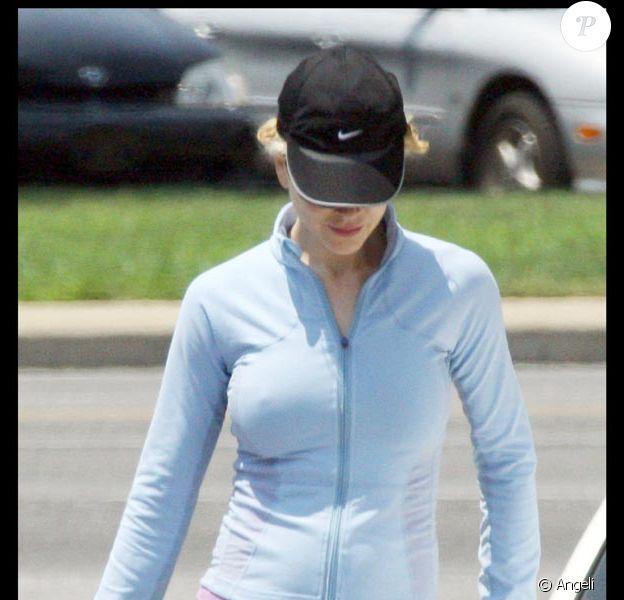 Nicole Kidman, à la sortie de son cours de sport
