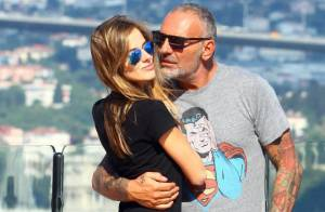 Christian Audigier et sa belle Nathalie Sorensen: Amoureux et tendres à Istanbul