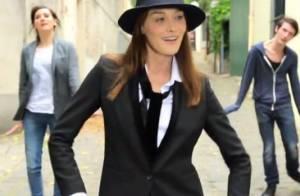 Carla Bruni fait ''Le Pingouin'' dans son étonnant nouveau clip !