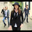 """Image extraite du nouveau clip de Carla Bruni, """"Le Pingouin"""", juin 2013."""