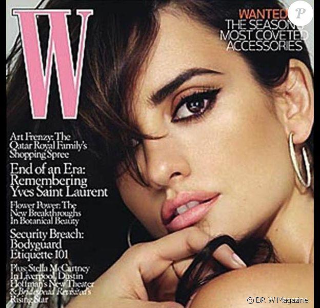 Christy Turlington pour W Magazine