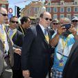 Le prince Albert II de Monaco - Quatrième étape du Tour de France, le 2 juillet 2013 à Nice.