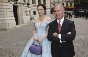 Carla Bruni : Glamour au bras de Bradley Cooper pour Bulgari