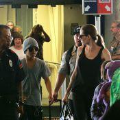 Angelina Jolie, avec Pax et Maddox dans ses bagages, reprend les tournages