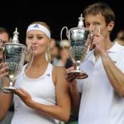 Wimbledon-Kristina Mladenovic : Joie et émotion devant sa copine Marion Bartoli