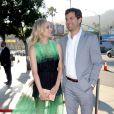 """Diane Kruger et Joshua Jackson - Première de la série """"The Bridge"""" à Los Angeles le 8 juillet 2013."""