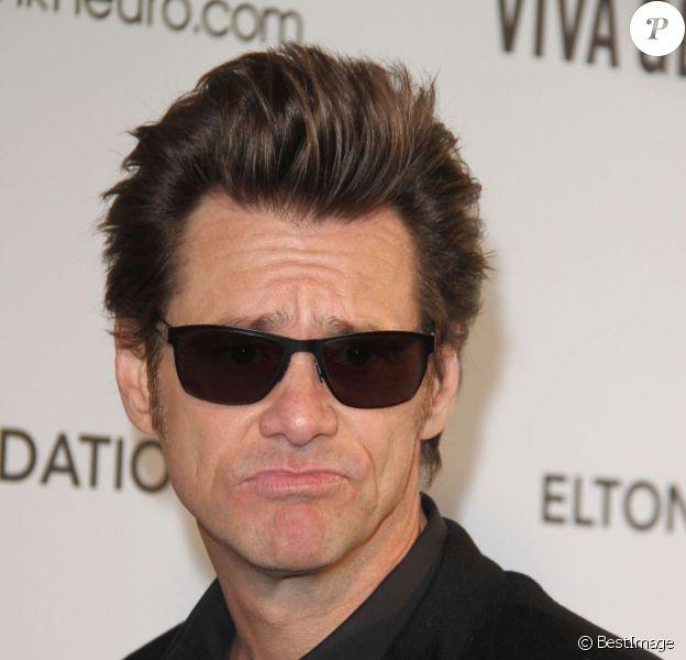 Jim Carrey à Los Angeles le 24 février 2013.