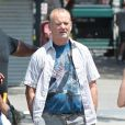 Bill Murray en vétéran sur le tournage de St. Vincent De Van Nuys à Brooklyn, New York, le 8 juillet 2013.
