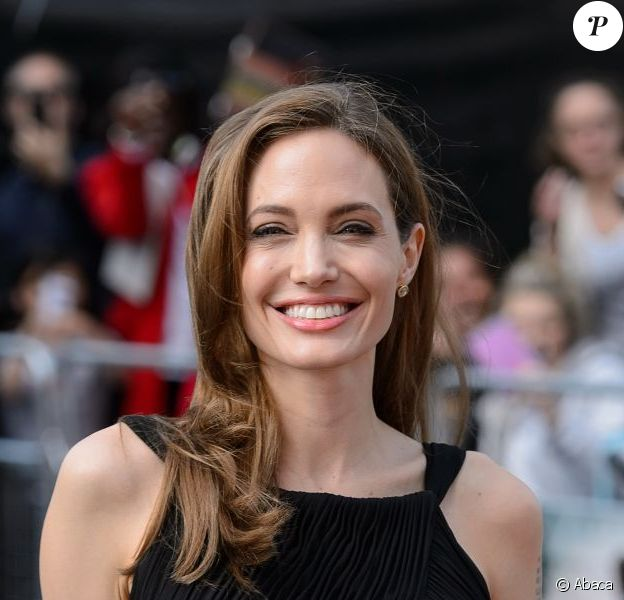 Angelina Jolie à Londres le 2 juin 2013.