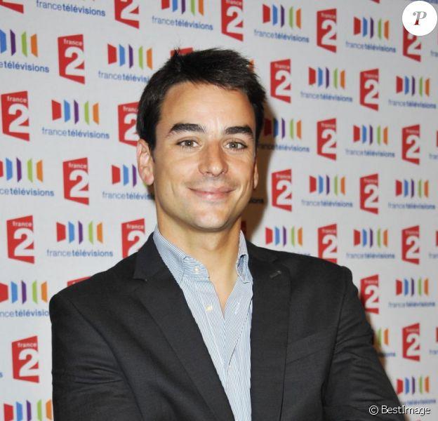 Julian Bugier en septembre 2011 à Paris
