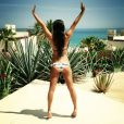 La jolie Lea Michele a partagé des photos de ses vacances au Mexique sur Instagram.
