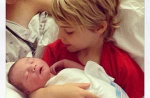 Kevin Richardson des Backstreet Boys : Première photo de son bébé Maxwell Haze