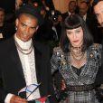 Madonna et Brahim Zaibat à la soirée Punk: Chaos to Couture' Costume Institute Benefit Met Gala, à New York, le 6 mai 2013.