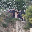 Mariage de Xavi Hernandez et Nuria Cunilleraà Blanes, le 13 juillet 2013.