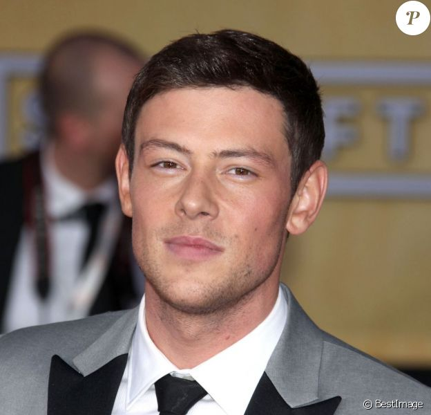 Cory Monteith aux Screen Actors Guild Awards, à Los Angeles le 27 janvier 2013.
