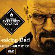 Poster de la série Breaking Bad avec Bryan Cranston
