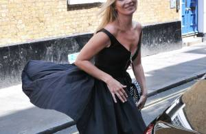 Kate Moss : Marilyn moderne, victime d'un coup de vent incongru