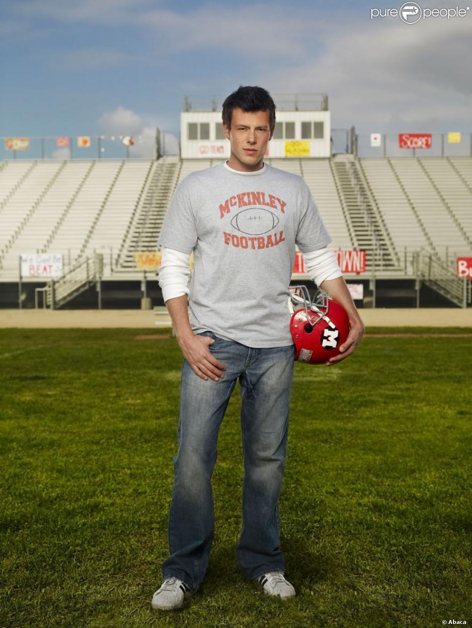 """Cory Monteith dans le rôle de Finn Hudson pour la série """"Glee"""" (2009/2013)"""