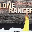 Kimberley Garner à l'avant-première de Lone Ranger à Londres le 21 juillet 2013.