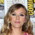 Scarlett Johansson au panel Captain America: The Winter Soldier le 20 juillet 2013.