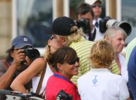 PHOTOS : Greg Norman et Chris Evert : champions du bisou !