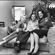 Pauline et sa mère Bernadette Lafont en 1982