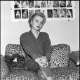 Photo d'archive de Pauline Lafont, fille de Bernadette en 1982