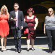 Michael Bublé et sa femme Luisana Lopilato, enceinte, ont organisé une  baby shower  à la Vancouver Art Gallery, le 28 juillet 2013.