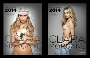 Clara Morgane : Premières photos hot et sensuelles de son calendrier 2014