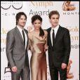Paul Wesley, Ian Somerhalder et Nina Dobrev, héros de Vampire Diaries