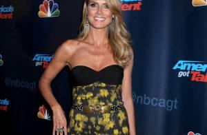 Heidi Klum : Tigresse, elle fait le show face à Mel B, glamour mais discrète