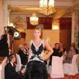 Défilé de la collection printemps/été 2014 de la marque Basler lors du gala de bienfaisance des 40 ans du Club Allemand International de Monaco, le 30 juillet 2013 à l'Hôtel Hermitage de Monte-Carlo, sous la présidence du prince Albert II et de la princesse Charlene de Monaco. Photo BestImage/Frederic Nebinger