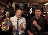 Robin Thicke : Reprise surprenante de son tube Blurred Lines