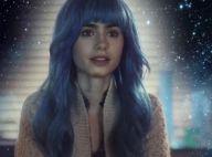 Lily Collins : Ravissante extraterrestre dans le dernier clip branché de M83